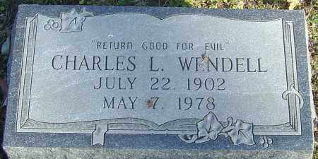 WENDELL, CHARLES L - Franklin County, Ohio | CHARLES L WENDELL - Ohio Gravestone Photos