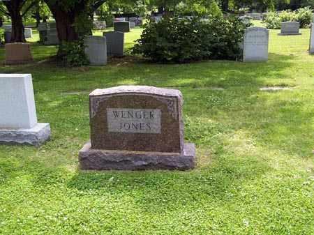 WENGER JONES, MONUMENT - Franklin County, Ohio   MONUMENT WENGER JONES - Ohio Gravestone Photos