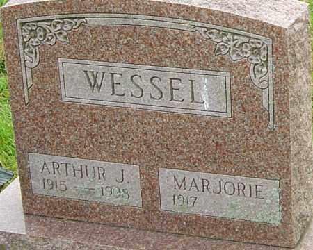 WESSEL, ARTHUR - Franklin County, Ohio | ARTHUR WESSEL - Ohio Gravestone Photos