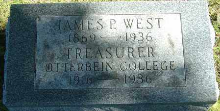 WEST, JAMES P - Franklin County, Ohio | JAMES P WEST - Ohio Gravestone Photos