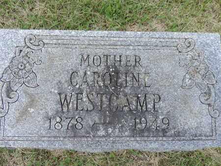 WESTCAMP, CAROLINE - Franklin County, Ohio   CAROLINE WESTCAMP - Ohio Gravestone Photos