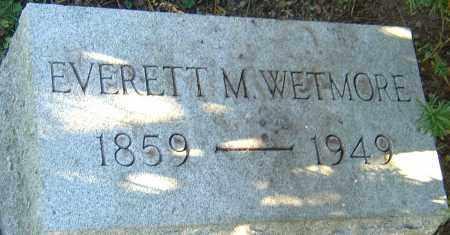 WETMORE, EVERETT MAURICE - Franklin County, Ohio | EVERETT MAURICE WETMORE - Ohio Gravestone Photos