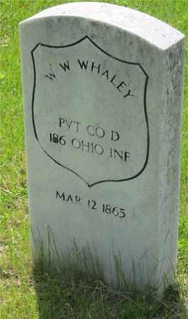 WHALEY, W. W. - Franklin County, Ohio | W. W. WHALEY - Ohio Gravestone Photos