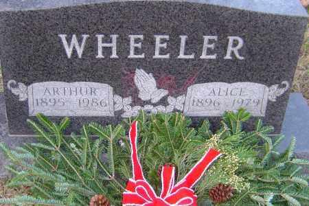 WHEELER, ALICE - Franklin County, Ohio | ALICE WHEELER - Ohio Gravestone Photos