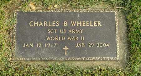 WHEELER, CHARLES B. - Franklin County, Ohio | CHARLES B. WHEELER - Ohio Gravestone Photos