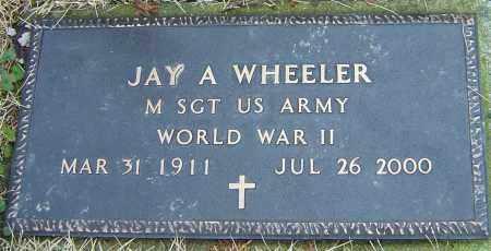 WHEELER, JAY A - Franklin County, Ohio   JAY A WHEELER - Ohio Gravestone Photos
