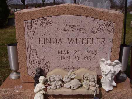 ADKINS WHEELER, LINDA - Franklin County, Ohio | LINDA ADKINS WHEELER - Ohio Gravestone Photos