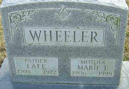 WHEELER, LAFE - Franklin County, Ohio | LAFE WHEELER - Ohio Gravestone Photos
