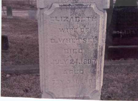RAREY WHETSEL, ELIZABETH - Franklin County, Ohio | ELIZABETH RAREY WHETSEL - Ohio Gravestone Photos