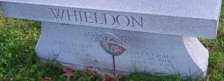 WHIELDON, JOHN ALBERT - Franklin County, Ohio | JOHN ALBERT WHIELDON - Ohio Gravestone Photos