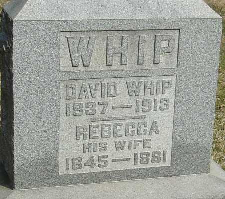 WHIP, DAVID - Franklin County, Ohio   DAVID WHIP - Ohio Gravestone Photos