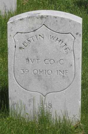WHITE, AUSTIN - Franklin County, Ohio   AUSTIN WHITE - Ohio Gravestone Photos