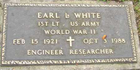 WHITE, EARL - Franklin County, Ohio | EARL WHITE - Ohio Gravestone Photos
