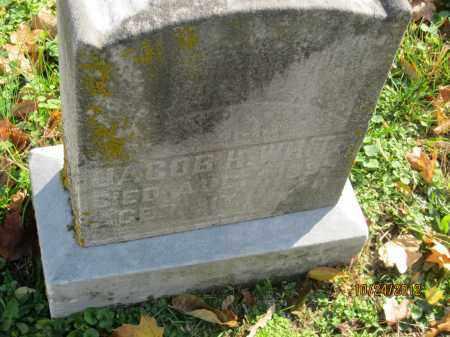 WHITE, JACOB H - Franklin County, Ohio | JACOB H WHITE - Ohio Gravestone Photos