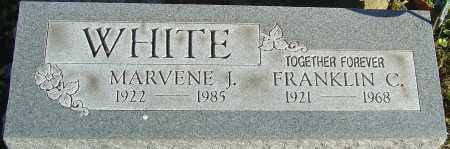 WHITE, FRANKLIN C - Franklin County, Ohio | FRANKLIN C WHITE - Ohio Gravestone Photos