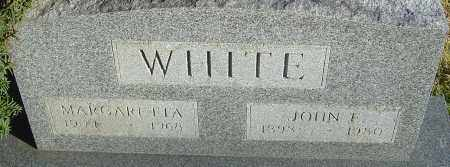 WHITE, JOHN E - Franklin County, Ohio | JOHN E WHITE - Ohio Gravestone Photos