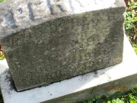 WHITE, PERRY - Franklin County, Ohio | PERRY WHITE - Ohio Gravestone Photos