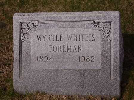 WHITEIS, MYRTLE - Franklin County, Ohio | MYRTLE WHITEIS - Ohio Gravestone Photos