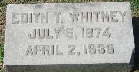 TURNER WHITNEY, EDITH - Franklin County, Ohio | EDITH TURNER WHITNEY - Ohio Gravestone Photos