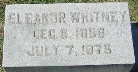 WHITNEY, ELEANOR - Franklin County, Ohio | ELEANOR WHITNEY - Ohio Gravestone Photos