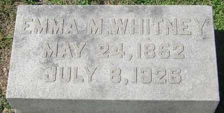 WHITNEY, EMMA M - Franklin County, Ohio | EMMA M WHITNEY - Ohio Gravestone Photos