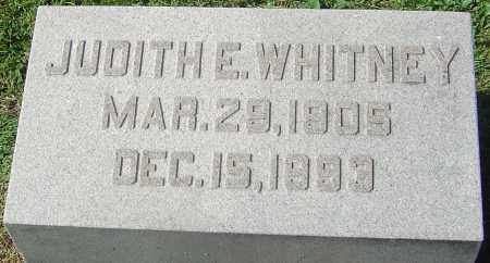 WHITNEY, JUDITH E - Franklin County, Ohio | JUDITH E WHITNEY - Ohio Gravestone Photos