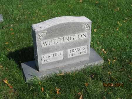 WHITTINGTON, CLARENCE DAVID - Franklin County, Ohio | CLARENCE DAVID WHITTINGTON - Ohio Gravestone Photos