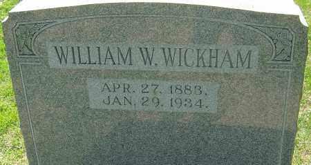 WICKHAM, WILLIAM WALLACE - Franklin County, Ohio | WILLIAM WALLACE WICKHAM - Ohio Gravestone Photos