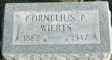 WIERTS, CORNELIUS P - Franklin County, Ohio | CORNELIUS P WIERTS - Ohio Gravestone Photos