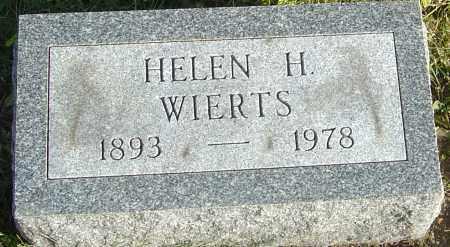 HAMILTON WIERTS, HELEN - Franklin County, Ohio | HELEN HAMILTON WIERTS - Ohio Gravestone Photos
