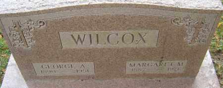 WILCOX, GEORGE ALBERT - Franklin County, Ohio | GEORGE ALBERT WILCOX - Ohio Gravestone Photos