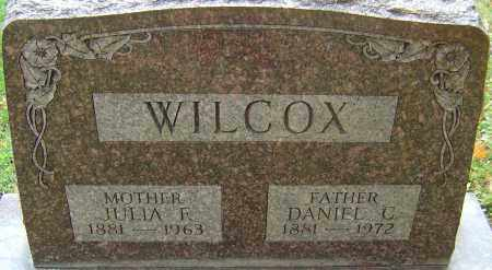 FOGEL WILCOX, JULIA - Franklin County, Ohio | JULIA FOGEL WILCOX - Ohio Gravestone Photos