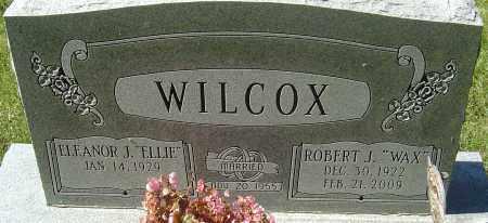 WILCOX, ROBERT J - Franklin County, Ohio | ROBERT J WILCOX - Ohio Gravestone Photos