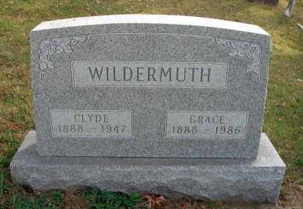 WILDERMUTH, GRACE - Franklin County, Ohio | GRACE WILDERMUTH - Ohio Gravestone Photos