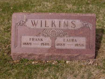 WILKINS, LAURA - Franklin County, Ohio | LAURA WILKINS - Ohio Gravestone Photos