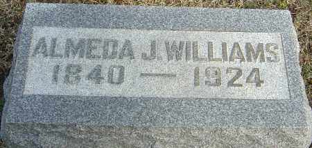 MORGAN WILLIAMS, ALMEDA J - Franklin County, Ohio | ALMEDA J MORGAN WILLIAMS - Ohio Gravestone Photos