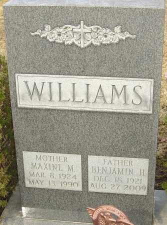 WILLIAMS, BENJAMIN H - Franklin County, Ohio   BENJAMIN H WILLIAMS - Ohio Gravestone Photos