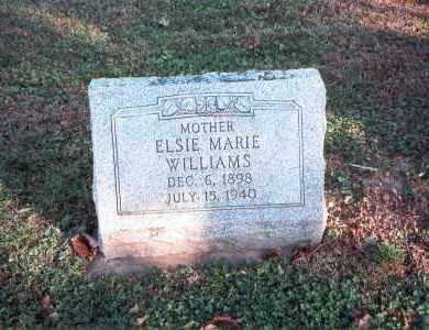 ELMORE WILLIAMS, ELSIE MARIE - Franklin County, Ohio   ELSIE MARIE ELMORE WILLIAMS - Ohio Gravestone Photos