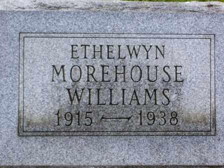 MOREHOUSE WILLIAMS, ETHELWYN - Franklin County, Ohio | ETHELWYN MOREHOUSE WILLIAMS - Ohio Gravestone Photos
