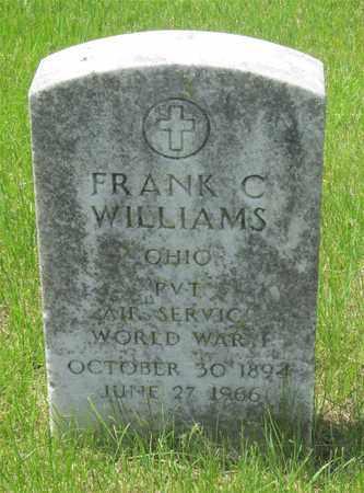 WILLIAMS, FRANK C. - Franklin County, Ohio   FRANK C. WILLIAMS - Ohio Gravestone Photos