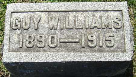 WILLIAMS, GUY - Franklin County, Ohio | GUY WILLIAMS - Ohio Gravestone Photos