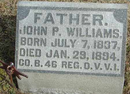 WILLIAMS, JOHN P - Franklin County, Ohio | JOHN P WILLIAMS - Ohio Gravestone Photos