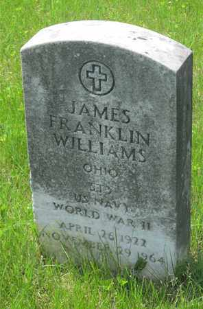 WILLIAMS, JAMES FRANKLIN - Franklin County, Ohio | JAMES FRANKLIN WILLIAMS - Ohio Gravestone Photos