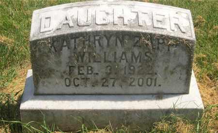 ZAPP WILLIAMS, KATHRYN - Franklin County, Ohio | KATHRYN ZAPP WILLIAMS - Ohio Gravestone Photos