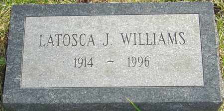 ROACH WILLIAMS, LATOSCA - Franklin County, Ohio | LATOSCA ROACH WILLIAMS - Ohio Gravestone Photos