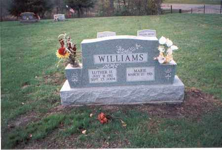 WILLIAMS, MARIE - Franklin County, Ohio | MARIE WILLIAMS - Ohio Gravestone Photos