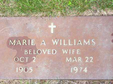 WILLIAMS, MARIE A. - Franklin County, Ohio | MARIE A. WILLIAMS - Ohio Gravestone Photos