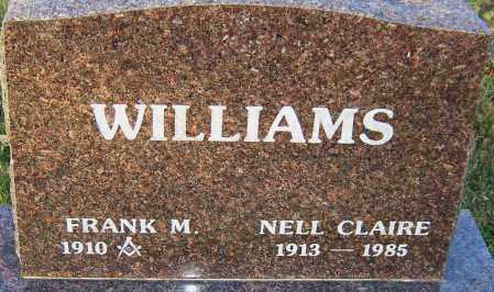 WILLIAMS, NELL CLAIRE - Franklin County, Ohio | NELL CLAIRE WILLIAMS - Ohio Gravestone Photos