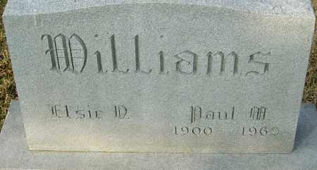 WILLIAMS, PAUL M - Franklin County, Ohio   PAUL M WILLIAMS - Ohio Gravestone Photos