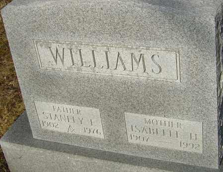 WILLIAMS, ISABELLE H - Franklin County, Ohio | ISABELLE H WILLIAMS - Ohio Gravestone Photos